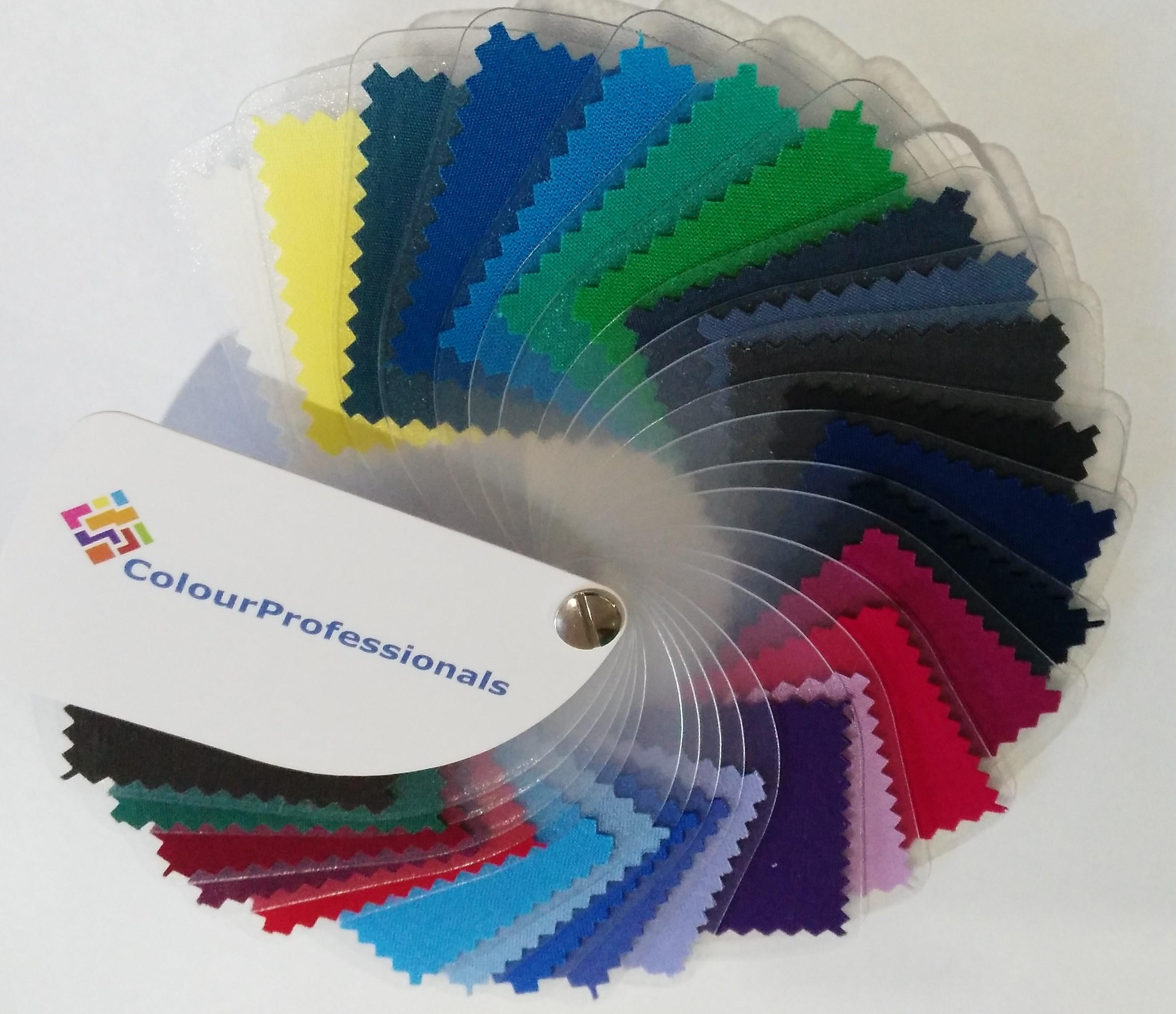 Unieke kleurenwaaier