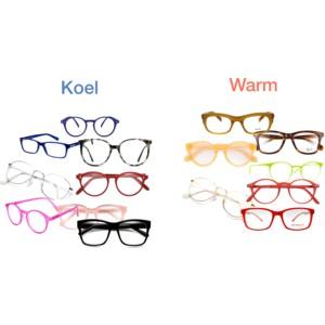 kleur bril uitzoeken