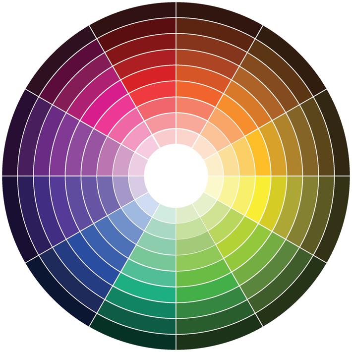 mooie kleurencombinaties door de kleurencirkel