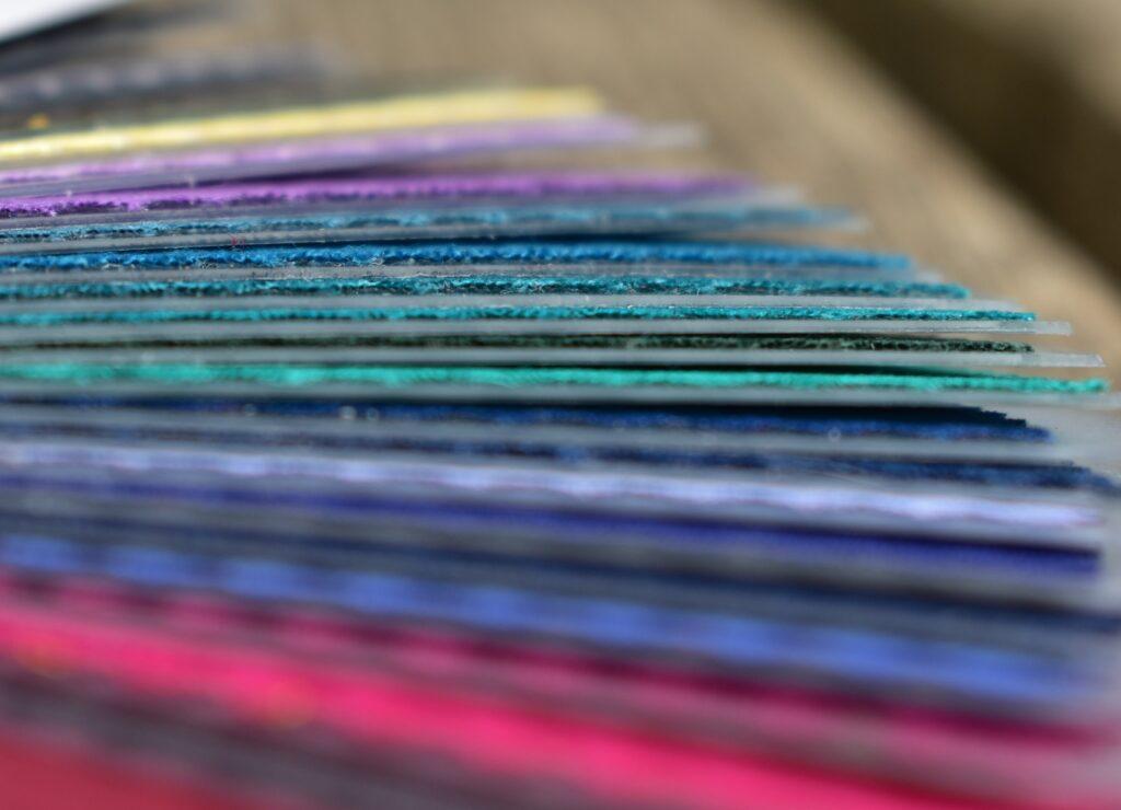 Gepersonaliseerde kleurenwaaier bij een kleurenanalyse op maat